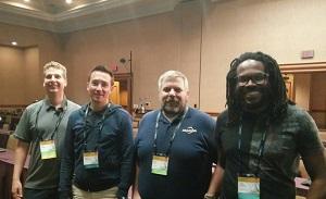 Fred et Fabre avec Pete et David - CF Summit 2016